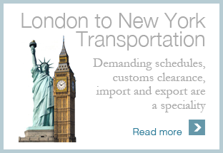 Art Shipping London to NYC