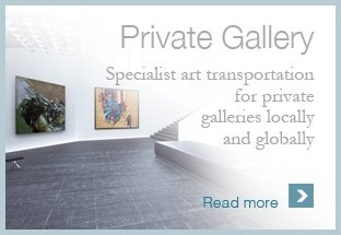 Art Transport for Private Gallery
