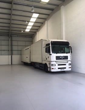 New Warehouse Open
